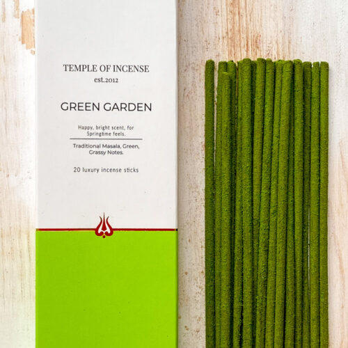 Green Garden incense sticks