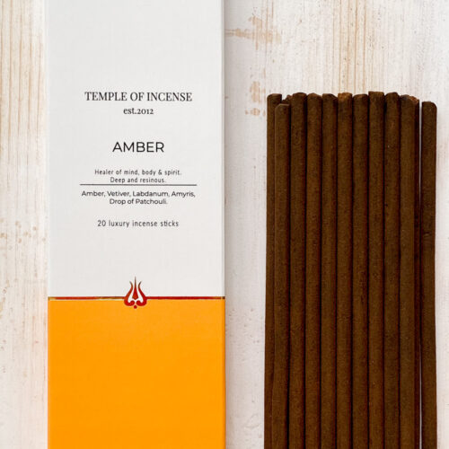 Amber incense sticks