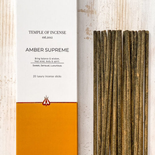 Amber supreme incense stick