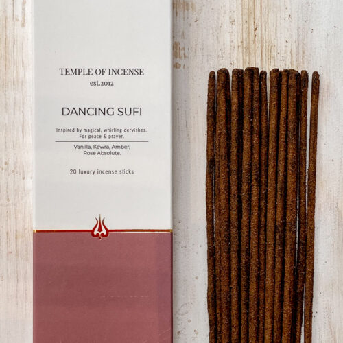 Dancing Sufi incense sticks