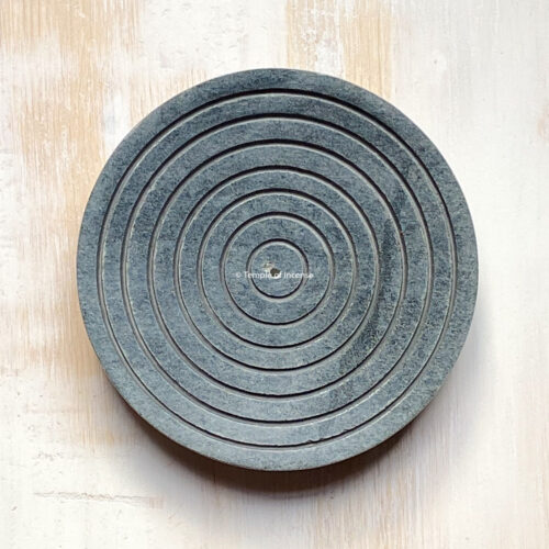 Stone bindu incense holder