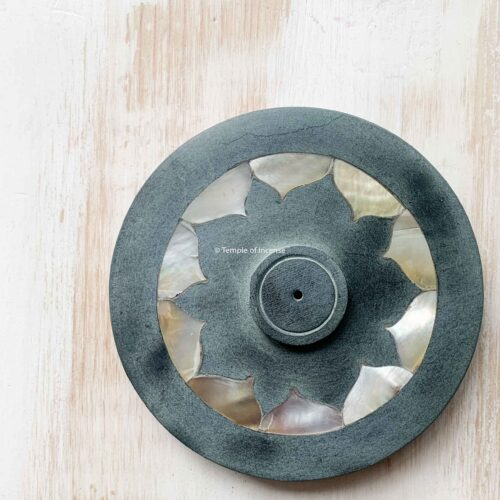 MOTHER OF PEARL LOTUS FLOWER incense holder