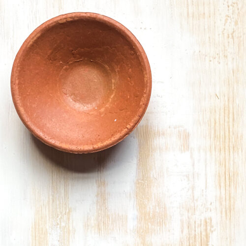 Clay pot incense burner