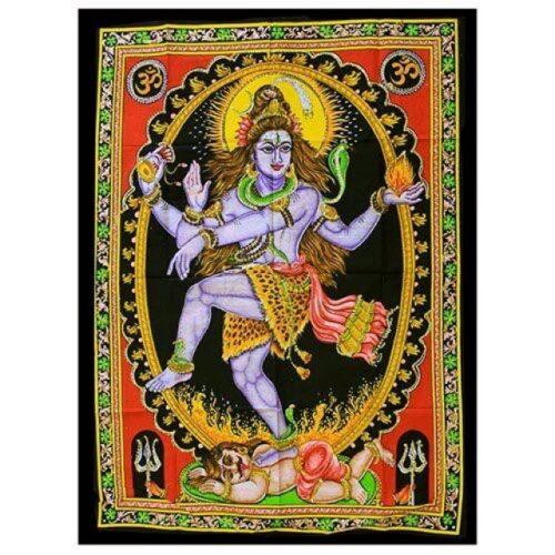 Dancing Shiva wall hanging