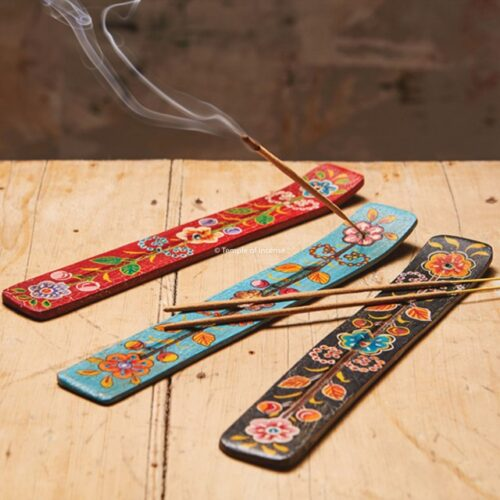 Indian wooden incense holder
