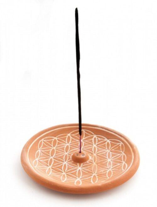 round incense stick holder