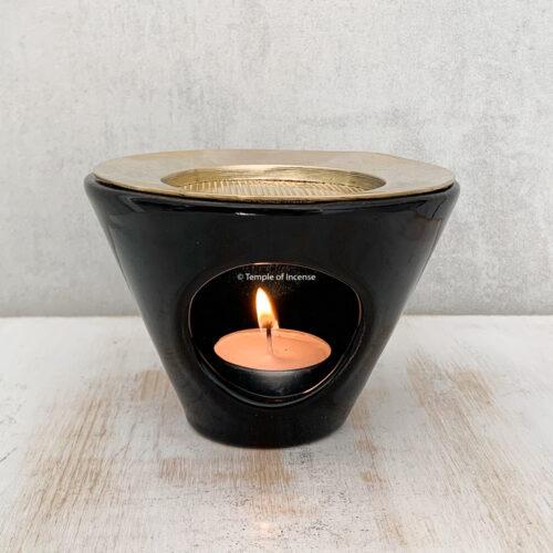 Luna incense burner