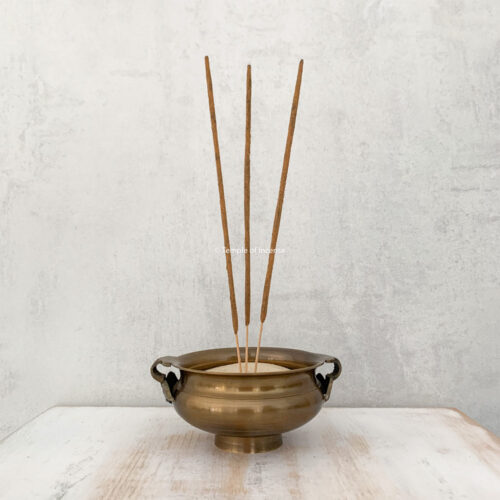 classic brass charcoal bowl
