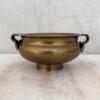 brass incense burning bowl