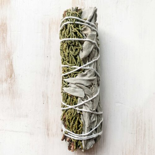 buy white sage and juniper smudge stick