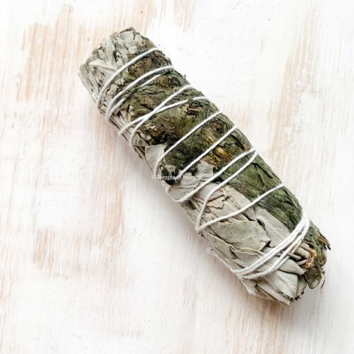 buy white sage and peppermint smudge stick