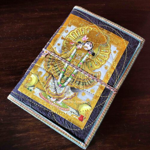 Gold Krishna Notebook