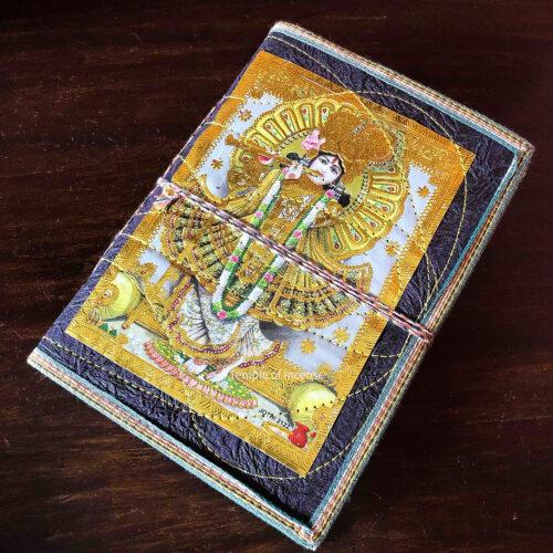Gold Krishna Notebook