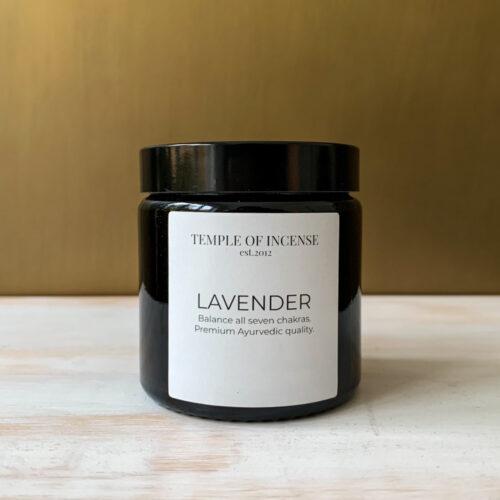 Premium lavender dhoop incense cones