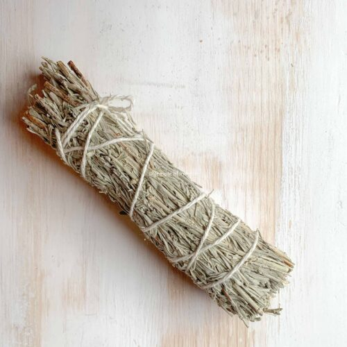 Blue Sage and Copal smudge stick