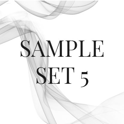 Luxury incense sample sets