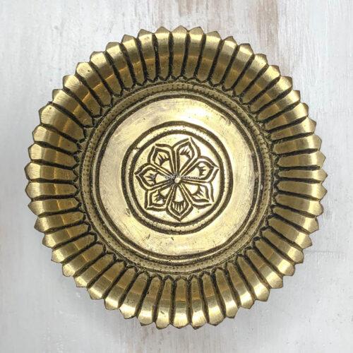 Rani brass charcoal dhoop burner